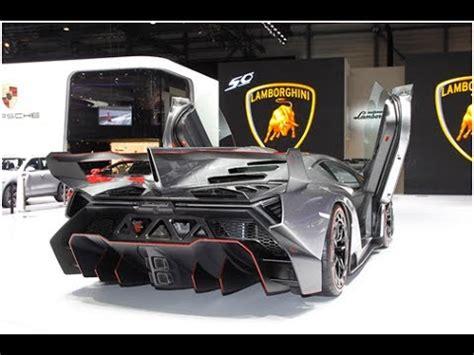 Brand New 2013 Super Car Lamborghini Veneno Youtube