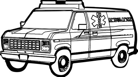 ambulance coloring pages ambulance coloring pages to print coloring pages