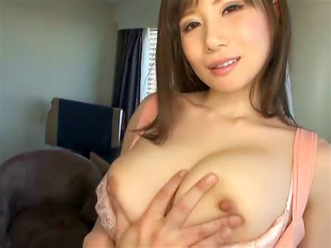 Sexy Japanese Milf Azumi Chino Exposes Big Tits In A