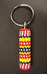 How To Make Beaded Keychains  30 Tutorials With Patterns