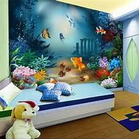 great kids bedroom mural wallpaper cartoon non woven children room self adhesive bedroom TV background wall mural ...