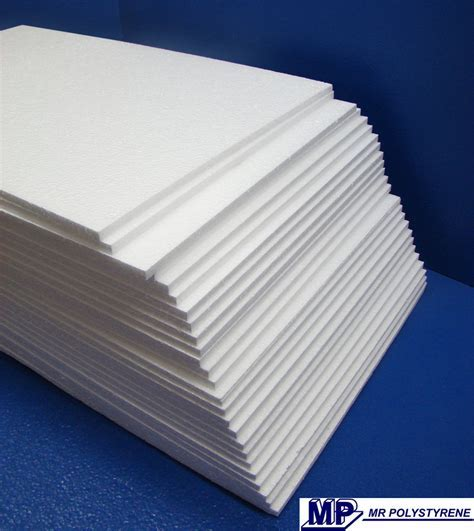 EXPANDED POLYSTYRENE SHEETS FOAM PACKING VARIOUS THICKNESS