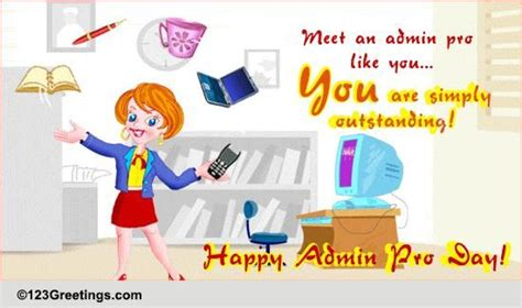 administrative professionals day fun cards  administrative professionals day fun wishes