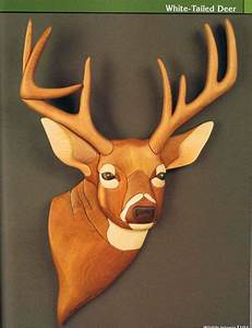 Wood Carving Patterns - Wildlife Intarsia - Woodworking