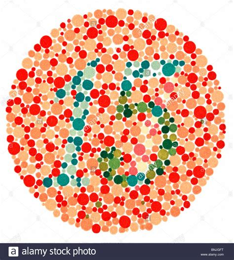 Color Blindness Armed Forces Color Vision Test Pseudo