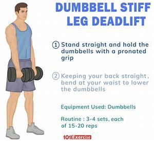 how to do dumbbell stiff leg deadlift with tips