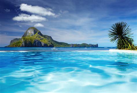 shop cadlao island infinity pool wallpaper  coastal