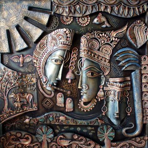 saritas radha krishna murals paintings