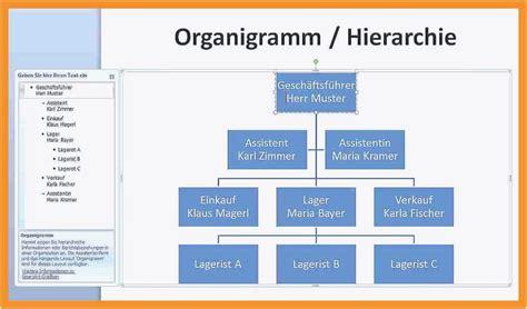 organigramm  excel organigramm vorlage word