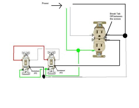 How About Wiring Two Split Circuit Outlets