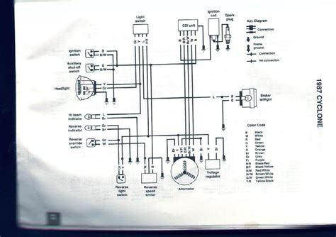 Polari Atv Key Switch Wiring Diagram by Cyclone 250x What Do I Need Electrical Components
