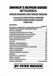 Famous Car Manual  1991 Mitsubishi Space Runner