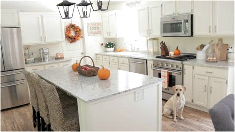 Decorating Ideas For The Kitchen by Fall Decorating Ideas My Fall Kitchen Decor