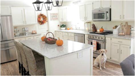 Fall Decorating Ideas  My Fall Kitchen Decor  Youtube