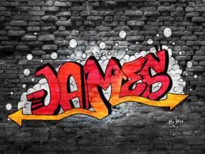 Graffiti Names James