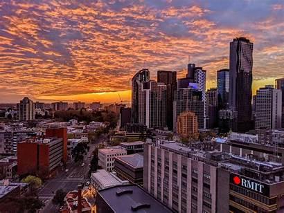Melbourne Swanston Street Wallpapers 4k