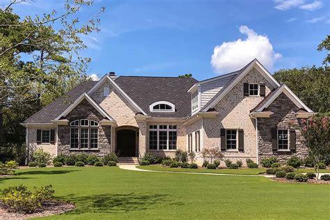 elegant  bed ranch home plan  bonus  garage nc architectural designs house plans