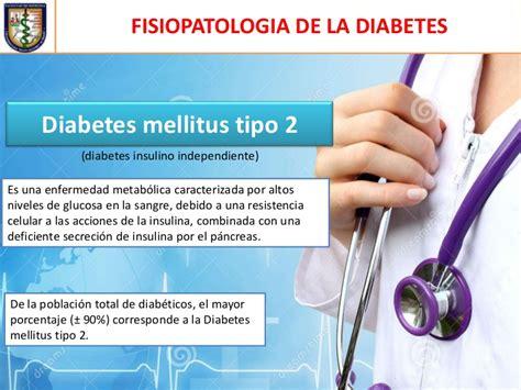 fisiopatologia de la diabetes mellitus tipo