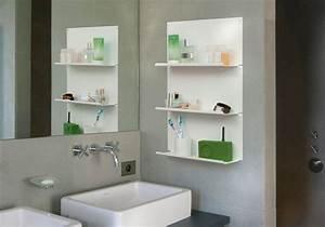 Etagere Rangement Salle De Bain : tag re murale salle de bain le lot de 2 teebooks ~ Melissatoandfro.com Idées de Décoration