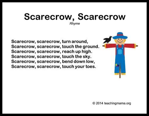 10 autumn songs for preschoolers 723 | Scarecrow Scarecrow