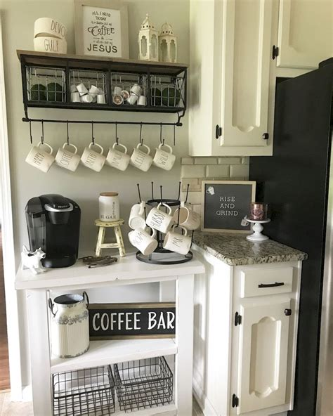 We're a place to experience positive vibes while sipping on your favorite drinks or snacking on. 50 DIY Coffee Bar Ideas inside the Home for Coffee Enthusiast