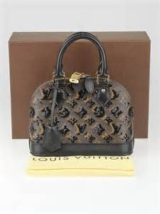 louis vuitton limited edition black monogram eclipse alma bb bag yoogis closet