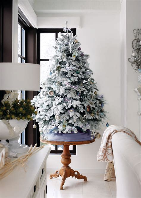 christmas tree ideas  small spaces