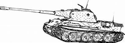 Svg Panzer Lowe Vii Tank Tanks War