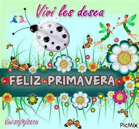 Feliz primavera PicMix