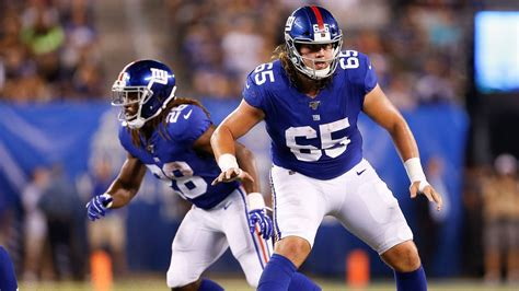 nick gates  start   tackle  giants offensive