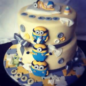 minions baby shower cake despicable baby birthday cake