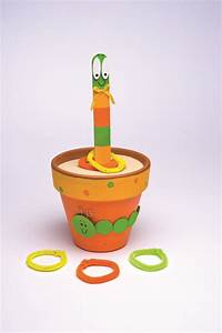Wiggly Worm Ring Toss   Fun Family Crafts