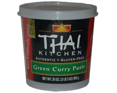 green curry paste thai kitchen thai kitchen green curry paste 35oz 992g 18 32usd spice 6935