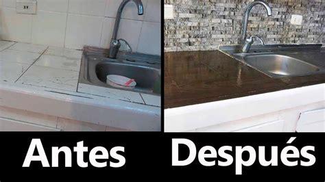 remodelacion de cocina  poco dinero  cost kitchen