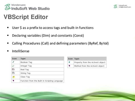 Vbscript On Error Resume Next Scope by Scripting In Indusoft Web Studio