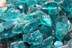 Turquoise Colored Rocks