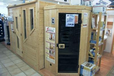 wärmekabine oder sauna petry bauzentrum wellness