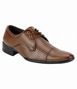 Kraasa Brown Formal Shoes Price in India- Buy Kraasa Brown ...