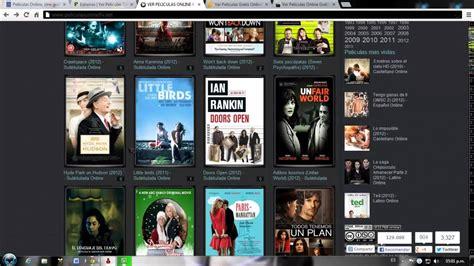 Paginas de peliculas online gratis HD recomendadas por mi
