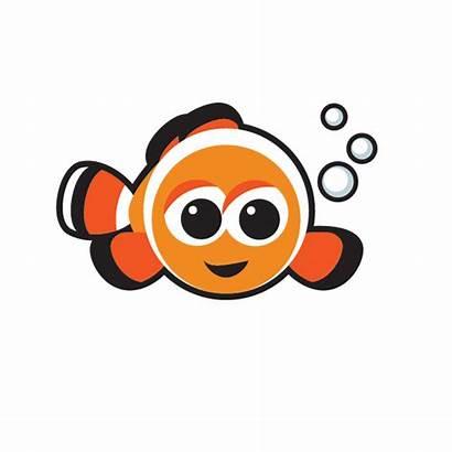 Fish Swim Clipart Clownfish Learning Puffer Early
