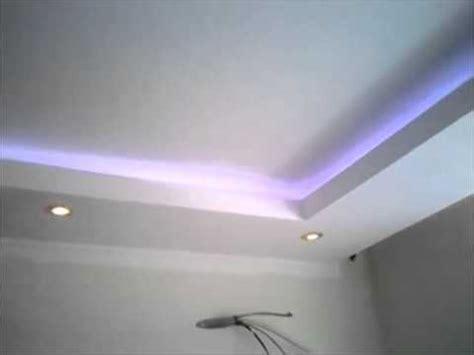 decoration faux plafond avec gorge lumineuse led