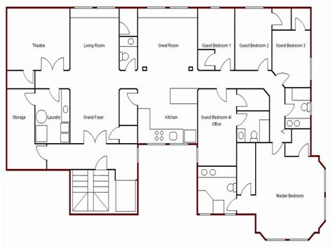 create simple floor plan simple house drawing plan basic house plans free mexzhouse com