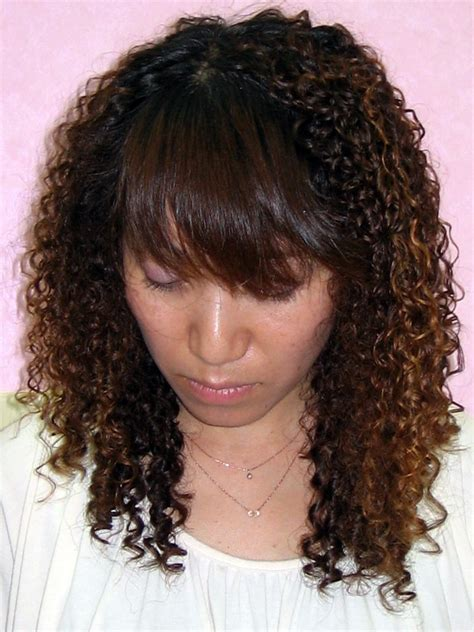22 sorts of spiral perm hairstyles for
