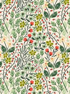 25+ best ideas about Floral Pattern Wallpaper on Pinterest ...