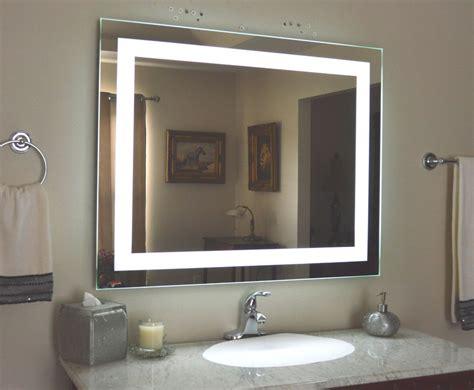 lighted bathroom vanity   mirror led lighted wall