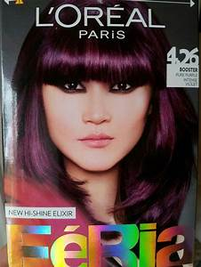 Loreal Purple Hr Pinterest Hair Coloring Hair Dye