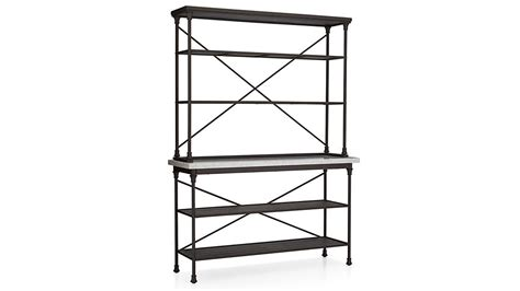 french kitchen bakers rack  hutch  buffets sideboards crate  barrel