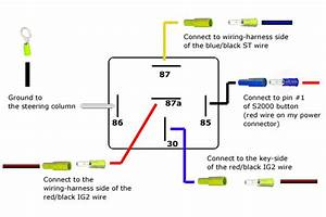 12 Volt Relay Wiring Diagram 5 Pole  Wiring  Wiring Diagram Images