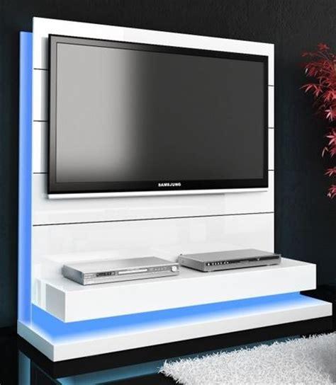 meuble tv blanc design futuriste meubles tv hifi vid 233 o