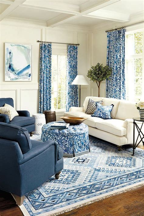 Astounding Blue Living Room Sets Chairs Sofa White Couch